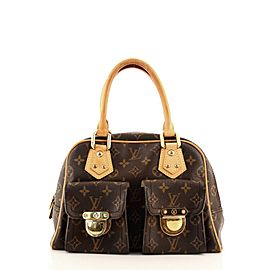 Louis Vuitton Manhattan Handbag Monogram Canvas PM
