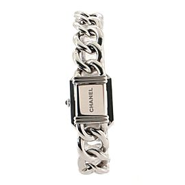 Chanel Premiere Chain Quartz Watch Stainless Steel with Diamond Bezel and Mother of Pearl 20
