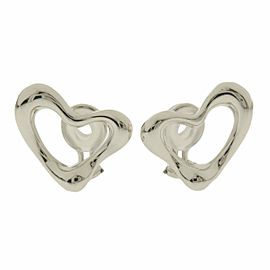 Tiffany & Co. Silver Open heart Earring