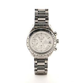 Omega Speedmaster Date Chronograph Automatic Watch Watch Stainless Steel 39