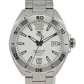 TAG HEUER Formula 1 WAZ2114 Caliber 5 White Dial Automatic Men's Watch