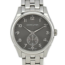 HAMILTON Jazzmaster Thinline H384110 gray Dial Quartz Men's Watch