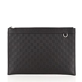 Louis Vuitton Discovery Pochette Damier Infini Leather GM