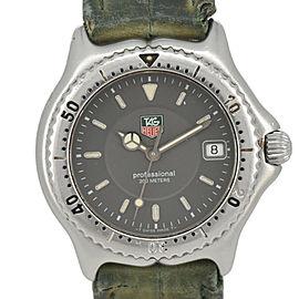 TAG Heuer S/el WI1211 Professional 200m SS/Leather Quartz Boy's Watch