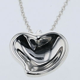 TIFFANY & Co 925 Silver Necklace TBRK-425