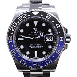 Rolex GMT Master II 116710 Batman Black & Blue Stainless Steel 40mm Mens Watch 2015