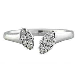 0.15 Carat 14K White Gold Diamond Ring