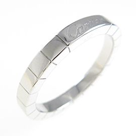 Cartier 18K White Gold Lanieres ring TkM-258