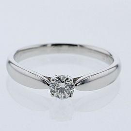TIFFANY & Co PlatinumPT950 / diamond Harmony 0.23ct Ring TBRK-524