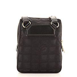 Chanel Travel Line Crossbody Bag Nylon Mini