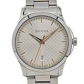 Gucci G-Timeless 126.4/YA1264052 Stainless Steel Quartz Men's Watch