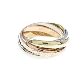 Cartier 18K Pink Gold/18K Yellow Gold/18K White Gold Trinity ring TkM-239