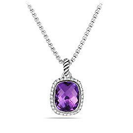 David Yurman Noblesse Pendant with Amethyst