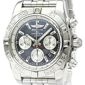 Polished BREITLING Chronomat 44 Steel Automatic Mens Watch AB0110