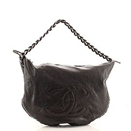 Chanel Modern Chain Hobo Calfskin Large