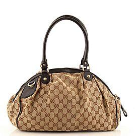 Gucci Sukey Boston Bag GG Canvas