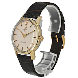 OMEGA Seamaster SS/GP/Leather Cal.285 Automatic Men's Watch