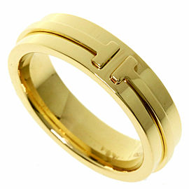 TIFFANY & Co. 18k Yellow Gold T TWO Ring
