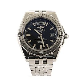 Breitling Headwind Day-Date Automatic Watch Stainless Steel 44