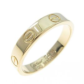 Cartier 18K Yellow Gold Mini Love ring TkM-105