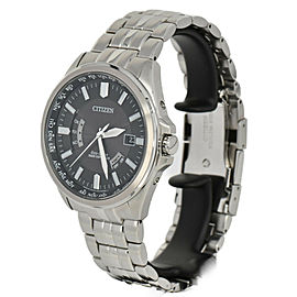 CITIZEN collection H145-SO73545 Eco-Drive Solar Powered Radio Mens Watch