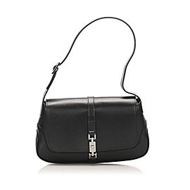 Jackie Leather Shoulder Bag