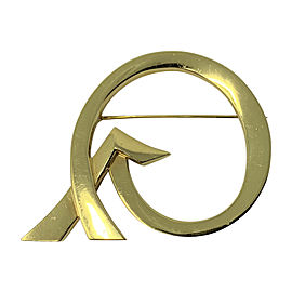 Tiffany & Co. Paloma Picasso Love Finds a Way XO 18K Yellow Gold Brooch