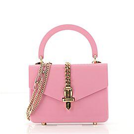 Gucci Sylvie 1969 Top Handle Bag Plexiglass Mini