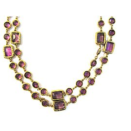 Chanel 18K Yellow Gold Necklace