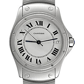 Cartier Santos Ronde 1920 36mm Mens Watch
