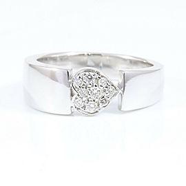 Piaget 18K White Gold Diamond Juliet Ring CHAT-600