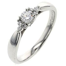 TIFFANY & Co.Platinum and Diamond Harmony Ring
