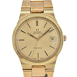OMEGA Geneva Cal.1012 Gold Dial Automatic Men's Watch