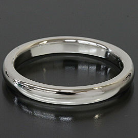 Tiffany & Co. 950 Platinum Simple Wedding Band Ring US: 6
