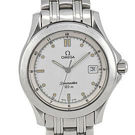Omega Seamaster 120M 2511.20 Date White Dial Quartz Men's Watch
