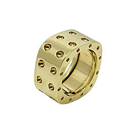 Roberto Coin Medium Pois Moi 18K Yellow Gold Ring Size 6.5