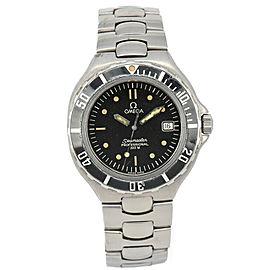 OMEGA Seamaster Professional 200m Black Dial Quartz Boy's Watch