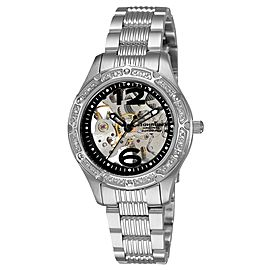 Stuhrling Executive 335.121110 Stainless Steel & Diamond 34mm Watch
