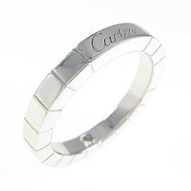 Cartier 18K White Gold Lanieres 1P ring TkM-257