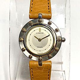 CORUM CLASSIC CLIPPER CLUB Quartz 25mm 18K Gold & Steel Ladies Watch