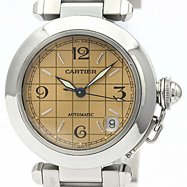 CARTIER Pasha C Steel Automatic Unisex Watch W31024M7
