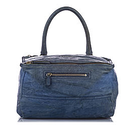 Pandora Leather Satchel