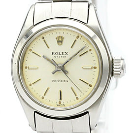 ROLEX Stainless Steel Oyster Precision Watch HK-2048