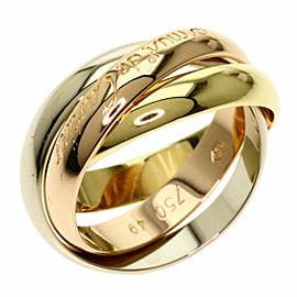 CARTIER Three Gold Trinity Ring
