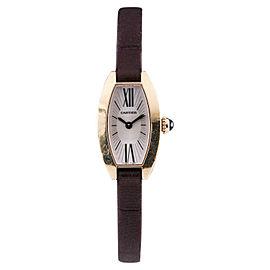 Cartier Mini Tonneau Lanieres 2592 16mm Womens Watch
