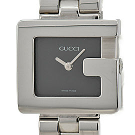 GUCCI 3600L black Dial SS Quartz Ladies Watch