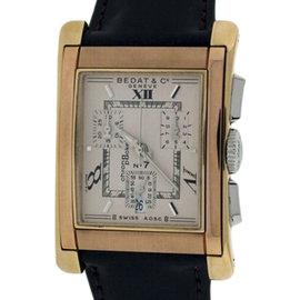 Bedat & Co. No.7 18K Rose/Yellow Gold Mens Watch