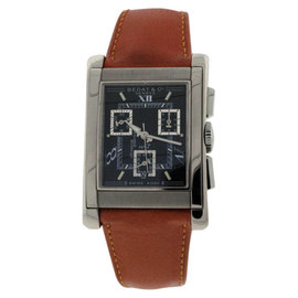 Bedat & Co. No.7 18K White Gold Chronograph Mens Watch