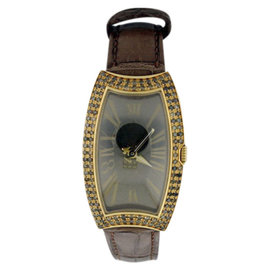 Bedat & Co. 384.380.400 18K Yellow Diamonds Womens 27mm Watch