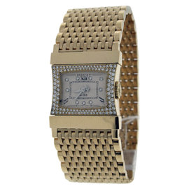 Bedat & Co No.33 Reverso 18K Yellow Gold with Diamond 22mm Womens Watch
